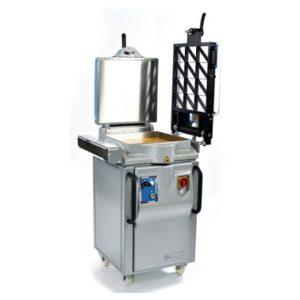 Presse de moulage Robotrad-p+ avec grille latérale